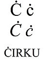 Latin small and capital letter c with dot above.jpg