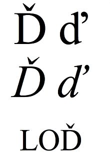 Latin small and capital letter d with caron.jpg