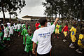Launching of a soccer school by MONUSCO Urugayan peacekeepers in Don Bosco college Goma (14064605345).jpg