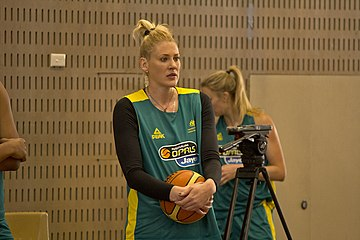 Lauren Jackson on Monday Image: Bidgee.