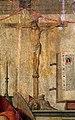 Lazzaro bastiani, san girolamo nello studio col committente saladino ferro, medico, 1475-80 ca. (monopoli, museo diocesano) 02,3 crocifisso.jpg