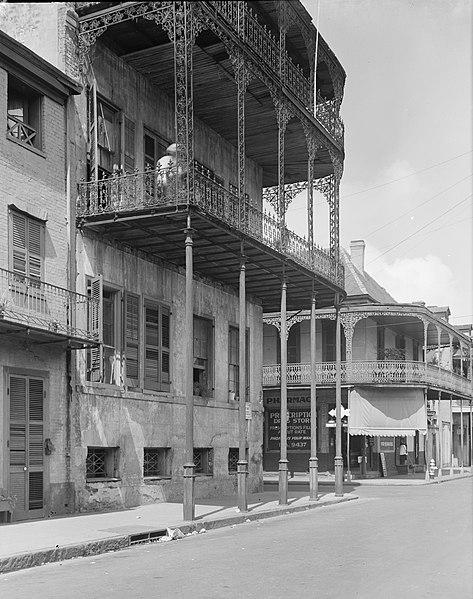 File:LePretre Mansion Orleans St Pharmacy 1958.jpg