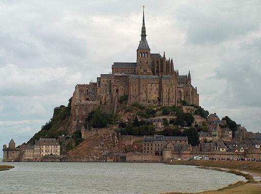 Le Mont Saint Michel en 2006 de près