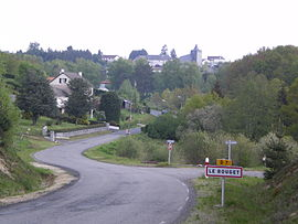 A general view of Le Rouget