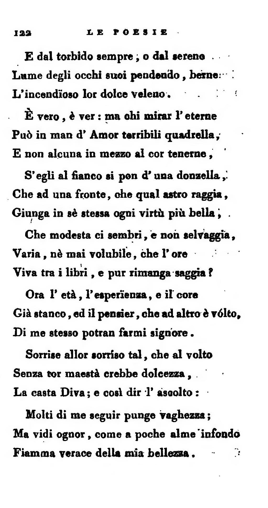 Pagina le prose e poesie campestri djvu 138 wikisource - Testo di casta diva ...