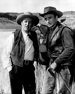 Lee J. Cobb ja James Drury Virginialaisessa 1962.