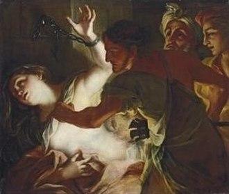 Saint Bibiana - Martyrdom of Saint Bibiana by Legnanino