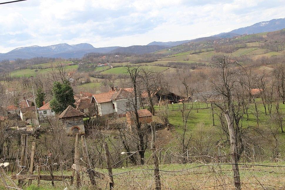 Lelic - opština Valjevo - zapadna Srbija - panorama 5