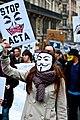 Les filles contre ACTA, anti ACTA le 25 février 2012.jpg