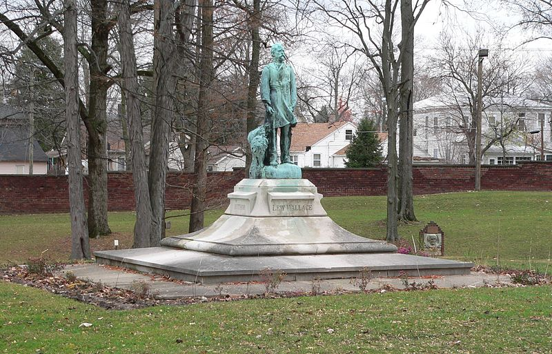 File:Lew Wallace statue.JPG