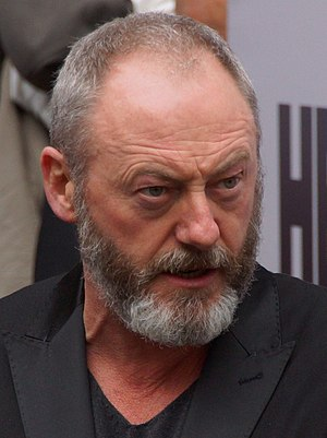 Liam Cunningham - Liam at the Game of Thrones exhibition in May 2013