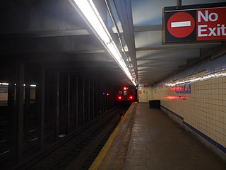 Liberty Avenue (IND Fulton Street Line) New York City Subway station in Brooklyn