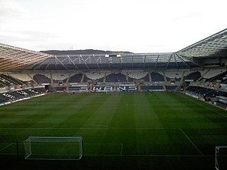 Liberty Stadium - Image: Liberty Stadium interior 2