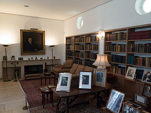 Weizmann House - Library Weizmann House