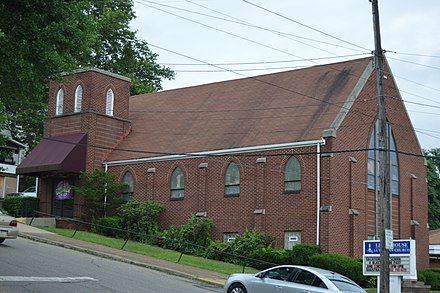Lighthouse Lutheran Church, an LCMC congregation in Freedom, Pennsylvania Lighthouse Lutheran Church in Freedom.jpg