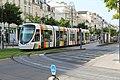Ligne A Tramway boulevard Foch rue Alsace Angers 9.jpg