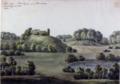 Lilleborg, i Almindingen, paa Bornholm. d. 3. August 1821. No. 47.png