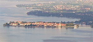 English: View overlooking Lindau, Lake Constan...