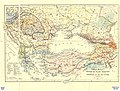 Linguistic map of Eastern Europe, Max Müller, 1854.jpg