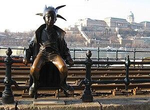 Little Princess Statue - Little Princess statue in Budapest, Hungary.