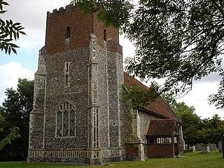 All Saints Church, Little Wenham Church in Suffolk, England