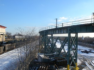 BMT Canarsie Line - Junction with New Lots Line