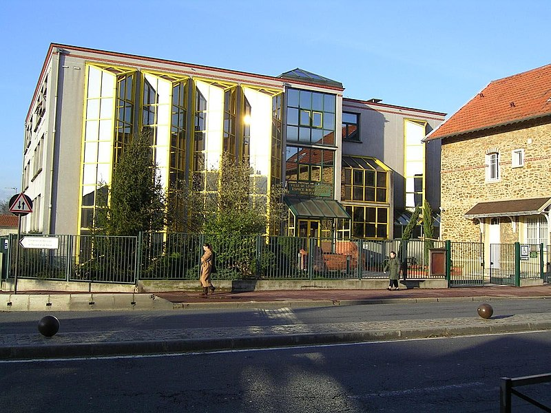 fichier:livry-gargan - bibliotheque rene-cassin — wikipédia