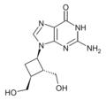 Lobucavir structure.png