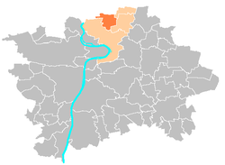 Location map municipal district Prague - Dolní Chabry.PNG