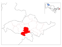 Location of Asaka District in Andijon Province.png