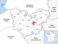 Locator map of Kanton Évreux-2 2019.png