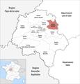 Locator map of Kanton Amboise 2018.png