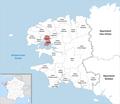 Locator map of Kanton Guipavas 2019.png