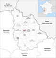 Locator map of Kanton Poitiers-3 2019.png