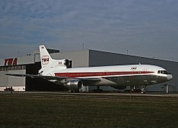 Trans World Airlinesin L-1011 TriStar