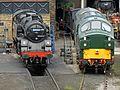 Locomotives at Haworth (9192866931).jpg