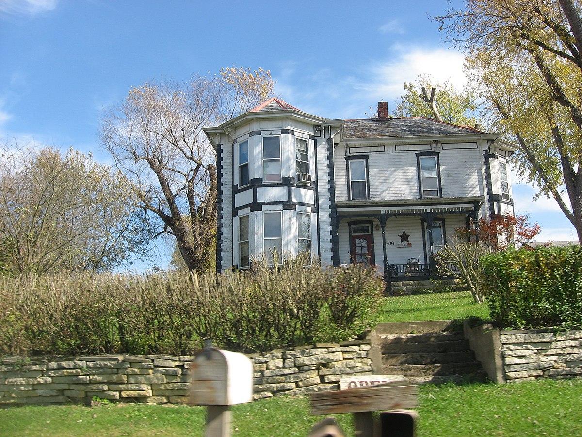 Locust grove adams county ohio wikipedia for The grove house