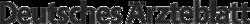 Logo des Deutschen Ärzteblattes