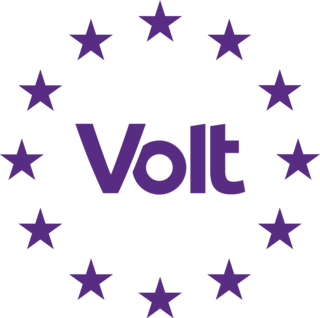 Volt Europa pan-European party for a united and federal Europe.