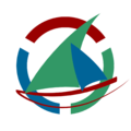 Logo wikiVoyage dhow (2nd version - 2013 contest).png