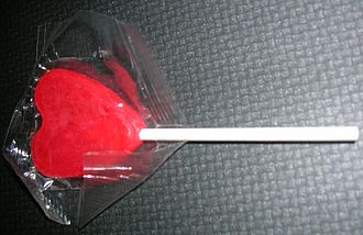 Bulk confectionery - Image: Lollipop in the package