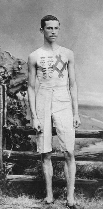Lon Myers - Lon Myers in 1880