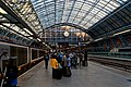 London - St Pancras International Rail - Single Roof Span 1868 by William Henry Barlow & Rowland Mason Ordish - View SSE III.jpg