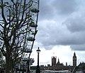 London Eye und Westminster-Bruecke - panoramio.jpg