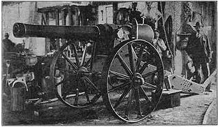 Long Cecil Type of Howitzer