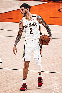 Lonzo Ball American basketball player