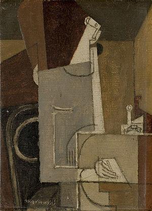 Louis Marcoussis - Image: Louis Marcoussis Personnage écrivant c 1931