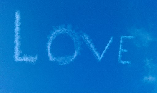Love in the blue sky