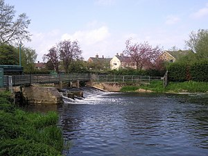 River Welland - The remains of the low locks at Deeping St James