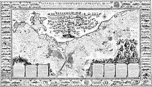 Eilhard Lubinus - 1618 map of Pomerania by Lubinus